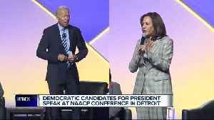 Democratic presidential candidates in town for NAACP Convention ahead of Detroit debates [Video]