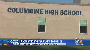 Not Enough Support To Demolish Columbine High School, Survey Finds [Video]