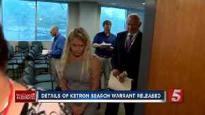 Search warrant reveals what police found in raid of Ketron's insurance office [Video]