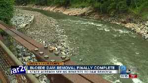 Bloede Dam removal finally complete [Video]