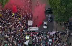 Protesters in London reject Britain's new PM [Video]