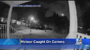 That Bright Light In The Sky Wednesday Night? It Was A Meteor [Video]