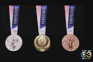 First Look At 2020 Tokyo Summer Olympic Medals [Video]