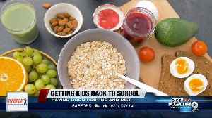Getting your kids back to school ready with healthy nutrition [Video]
