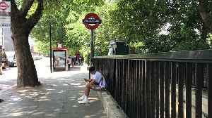 Temperature soars on London Underground on hottest-ever July day [Video]