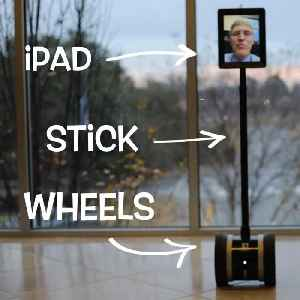 This video chat robot follows you everywhere you go [Video]