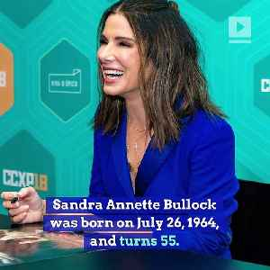Happy Birthday, Sandra Bullock! [Video]