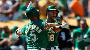 Oakland A's Surge Into Top Five in SI's MLB Power Rankings [Video]