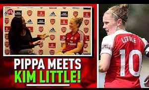 Arsenal Midfielder Kim Little Talks About The Emirates Cup & The Women's World Cup 2019! [Video]