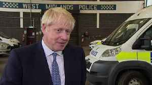 Boris announces new police officers [Video]