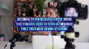 Report Says YouTube Videos Featuring Kids Get More Views [Video]