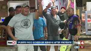Southwest Floridians celebrating Puerto Rico Governor Resignation [Video]