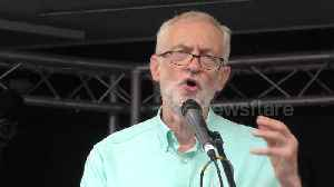 Labour leader Jeremy Corbyn 'will do everything' to stop no-deal Brexit and calls for general election [Video]