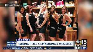 Glendale Lush employees pose to promote 'naked' packaging in now-viral photo [Video]