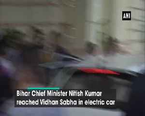 Nitish Kumar rides Bihar's first electric car, subsidy announced on e vehicles [Video]