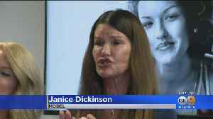 Model Janice Dickinson Settles Defamation Suit Against Bill Cosby [Video]