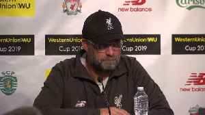 Liverpool manager Klopp wants to focus on the future [Video]