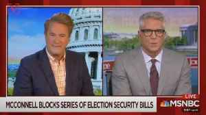 MSNBC's Joe Scarborough Calls 'Moscow Mitch' McConnell 'Un-American' for Blocking Election Security Bills [Video]