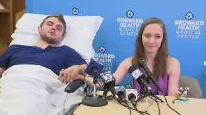 Man Injured In Fall Into Volcano Crater During Honeymoon Recovering At Fort Lauderdale Hospital [Video]