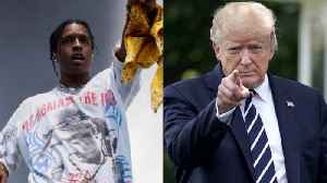 Donald Trump Continues to Push for A$AP Rocky's Freedom  [Video]