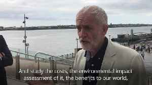 Jeremy Corbyn unveils £3.5bn River Mersey renewable energy plan [Video]