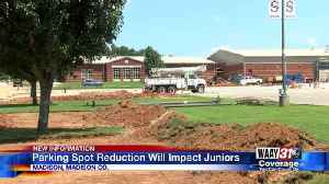 Parents, students in Madison County concerned over parking spot reduction at high school [Video]