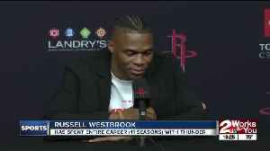 Westbrook Confident His Playstyle Fits with Harden [Video]