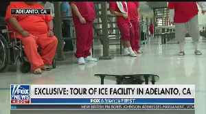 Fox News tours California migrant detention facility [Video]