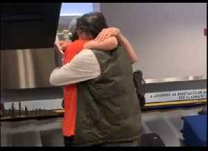 Man Surprises Brother at Anchorage Airport After 20 Years Apart [Video]