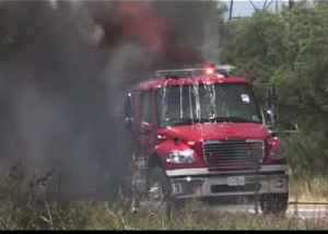 Fire Truck Catches Fire in Abilene, Texas [Video]