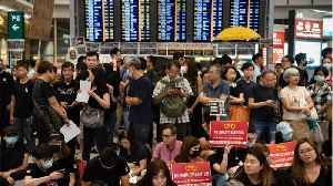 Thousands Of Protesters Gather At Hong Kong's Airport [Video]
