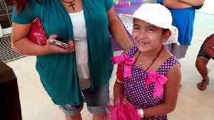 Seven-Year-Old Tornado Survivor Finally Home from After Two Months in Hospital [Video]