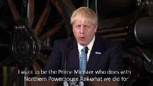 PM pledges a £3.6bn boost for towns and a trans-Pennine rail line [Video]