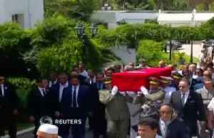 Tunisia bids farewell to president Essebsi at state funeral [Video]