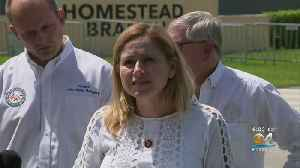 Congresswoman Debbie Mucarsel-Powell Returns To South Miami-Dade Facility For Unaccompanied Migrant Children [Video]