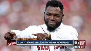 David Ortiz released from hospital nearly 7 weeks after shooting in Dominican Republic [Video]