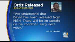 David Ortiz Released From Mass General Hospital [Video]