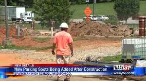 New Parking Spots Being Added After Construction [Video]