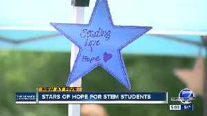 Volunteers paint stars to bring hope to STEM students after tragedy [Video]