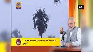 PM Modi requests citizens to spread message of water conservation during festival season [Video]