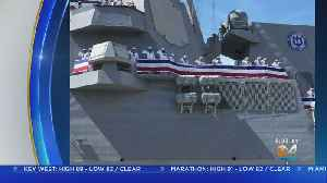 Navy Commissions New Destroyer In Fort Lauderdale [Video]