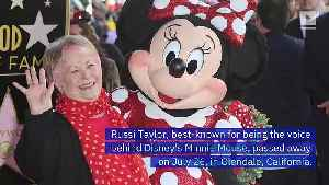Russi Taylor, Voice of Minnie Mouse, Dies at Age 75 [Video]