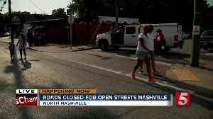 Roads closed for Open Streets Nashville [Video]