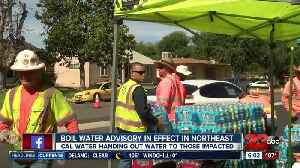 Precautionary boil water advisory in effect [Video]