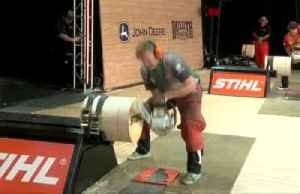 Competitors chop and saw their way to wins at Stihl Timbersports U.S. Championships [Video]
