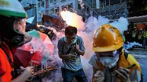 Hong Kong protesters target Beijing's office, clash with police [Video]