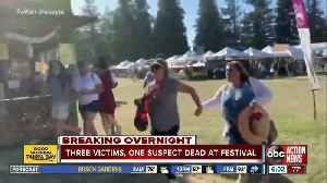 At least three victims, one suspect dead after shooting at California food festival [Video]