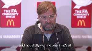 Jurgen Klopp: Don't expect to see the best Liverpool side in the Community Shield [Video]