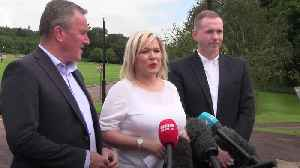 Michelle O'Neill blasts 'highly discourteous' Boris Johnson for not speaking with Irish premier [Video]