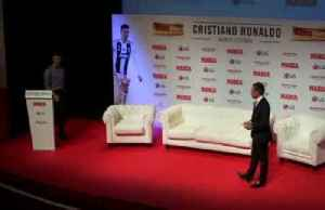 Cristiano Ronaldo receives award for career achievement [Video]